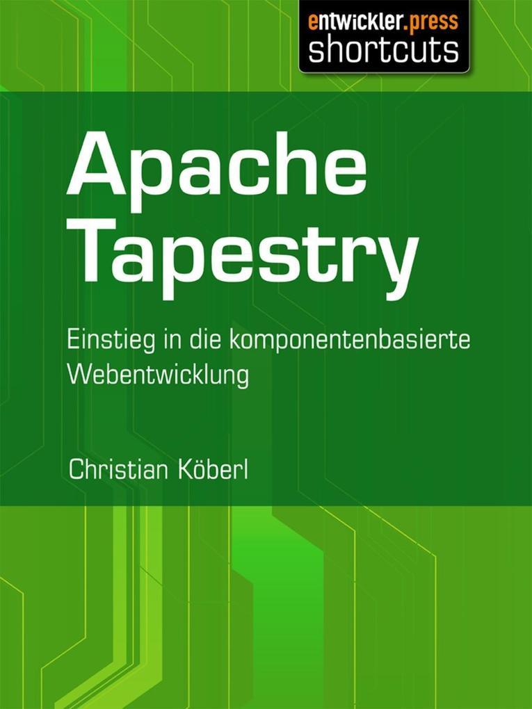 Apache Tapestry als eBook Download von Christia...