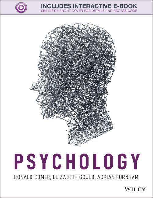 Psychology als Buch von Ronald Comer, Elizabeth...