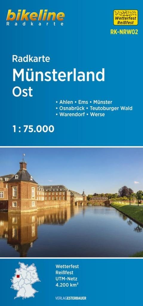 Bikeline Radkarte Münsterland Ost 1 : 75 000 (R...