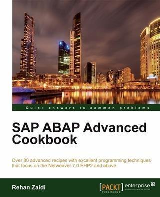 SAP ABAP Advanced cookbook als eBook Download v...