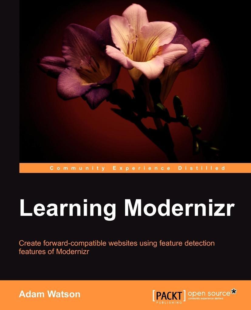 Learning Html5 Modernizr als Taschenbuch von Ad...