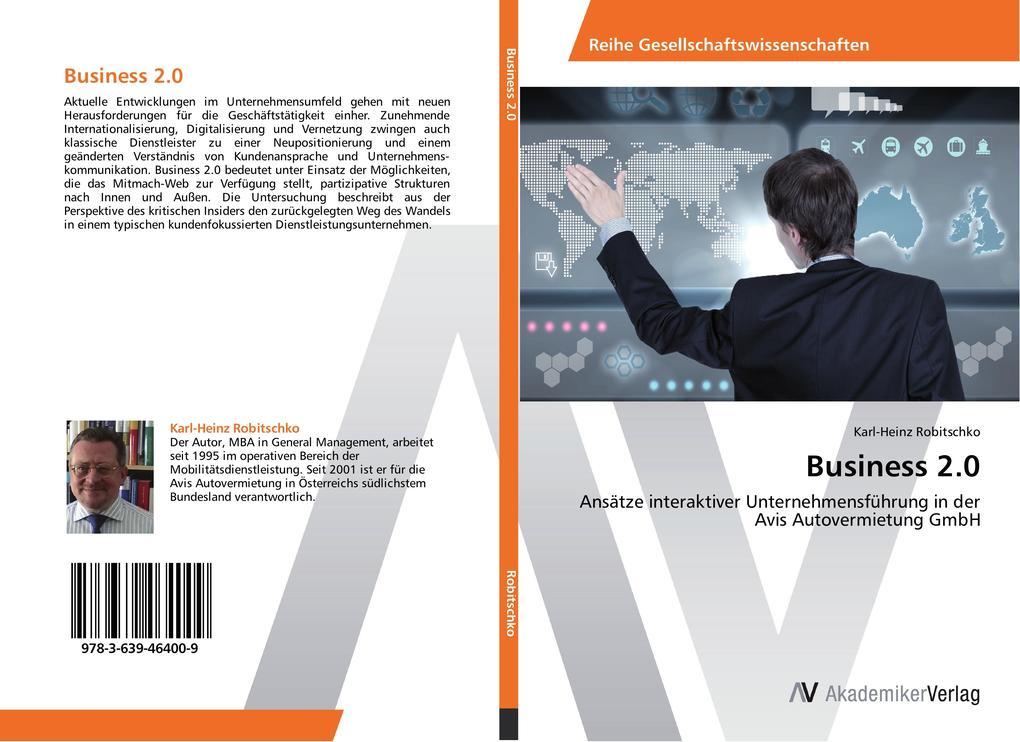 Business 2.0 als Buch von Karl-Heinz Robitschko