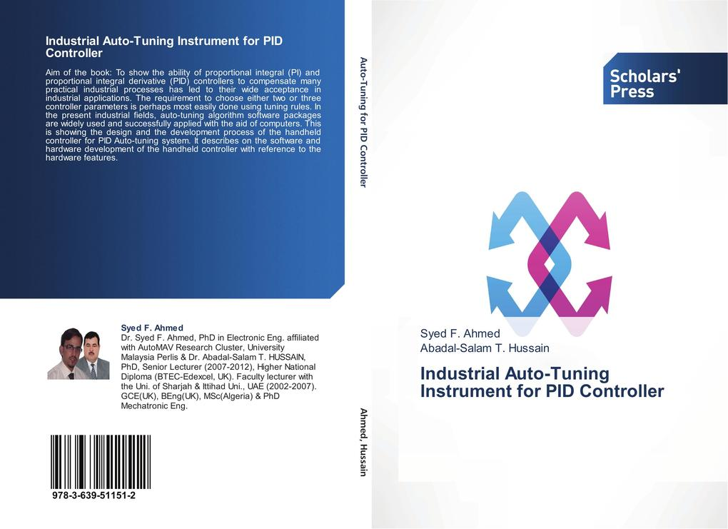 Vorschaubild von Industrial Auto-Tuning Instrument for PID Controller als Buch von Syed F. Ahmed, Abadal-Salam T. Hussain