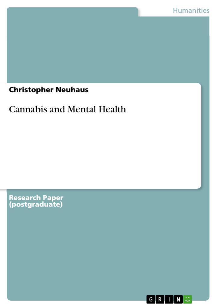 Cannabis and Mental Health als eBook Download v...