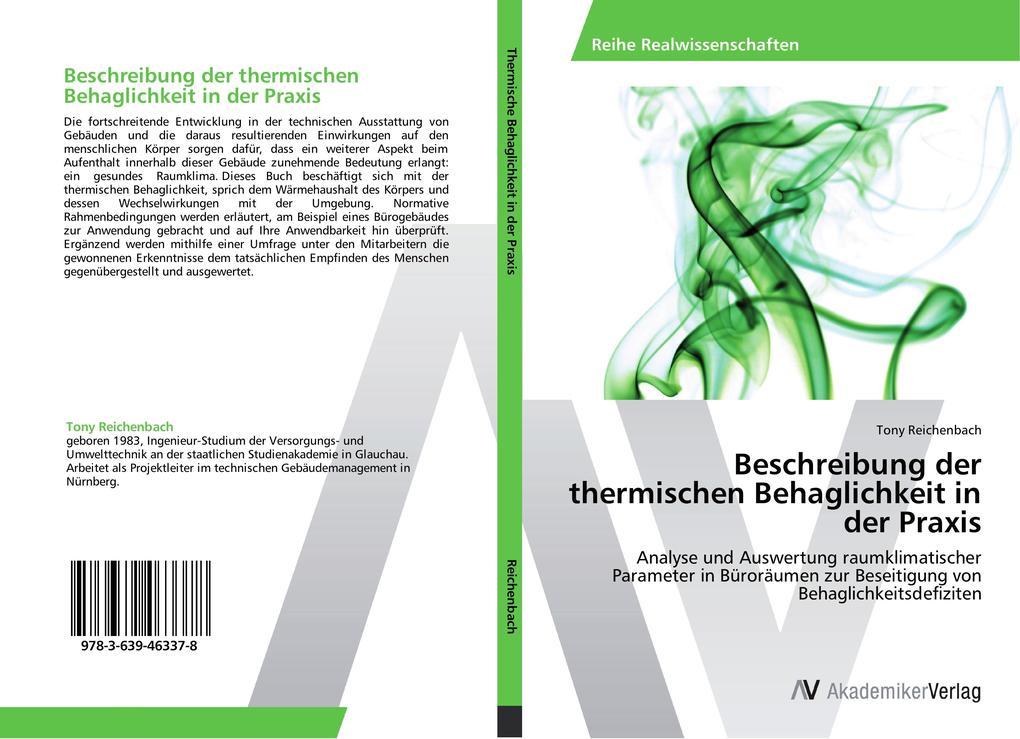 Beschreibung der thermischen Behaglichkeit in d...