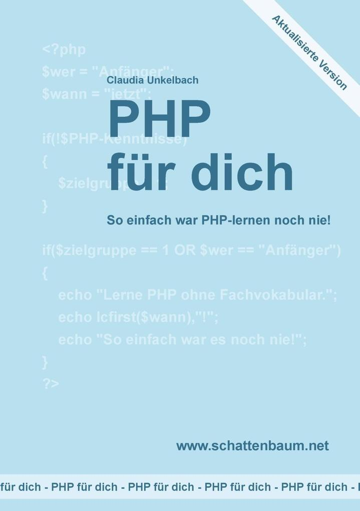 PHP für dich, Version 2014 als eBook Download v...