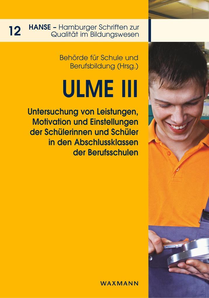 ULME III als Buch von
