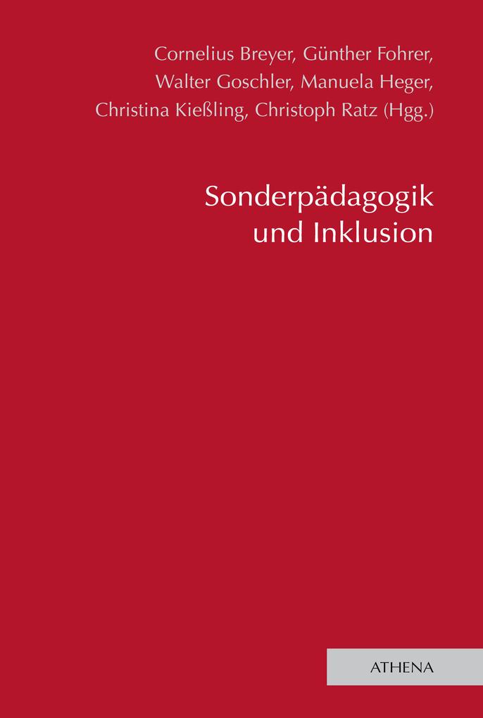 Sonderpädagogik und Inklusion als eBook Downloa...