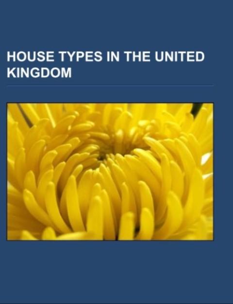 House types in the United Kingdom als Taschenbu...