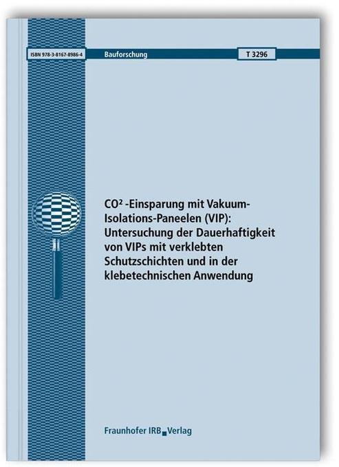 CO2-Einsparung mit Vakuum-Isolations-Paneelen (...
