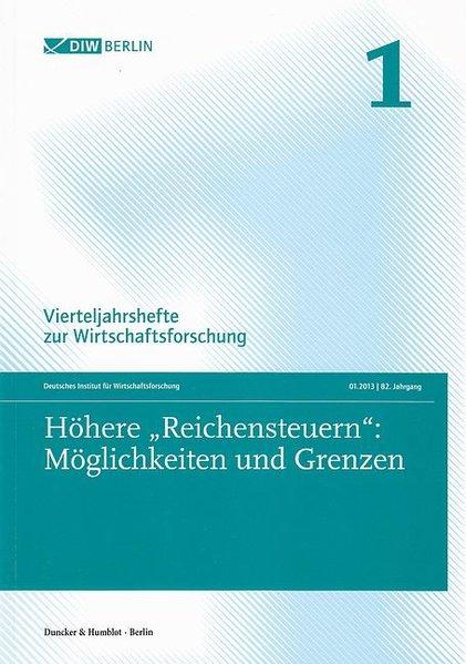 Höhere »Reichensteuern«: Möglichkeiten und Gren...