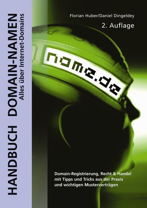 Handbuch Domain-Namen als Buch von Florian Hube...