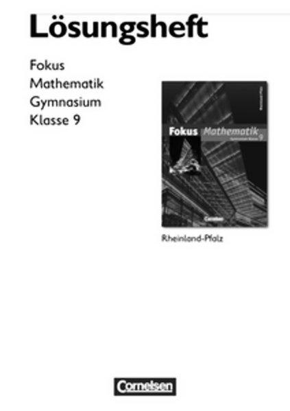 Fokus Mathematik - Rheinland-Pfalz - Bisherige ...