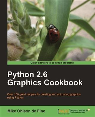 Python 2.6 Graphics Cookbook als eBook Download...