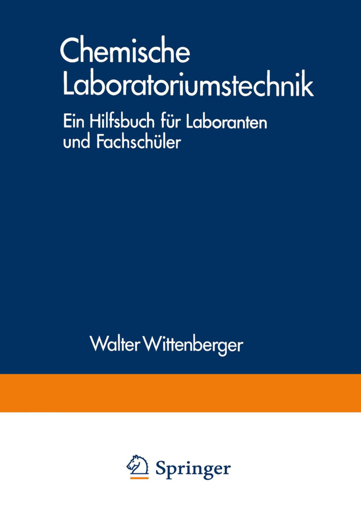 Chemische Laboratoriumstechnik als Buch von Wal...