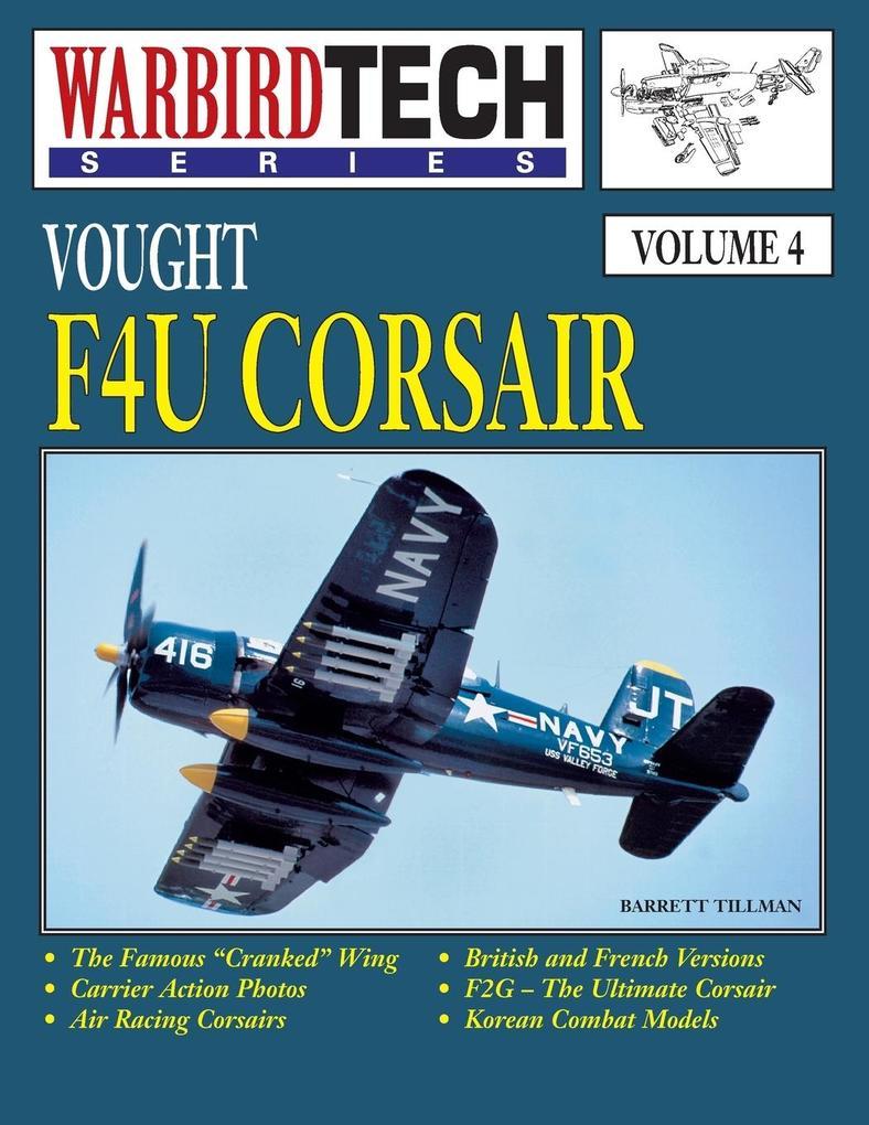 Vought F4u Corsair- Warbirdtech Vol. 4 als Buch...