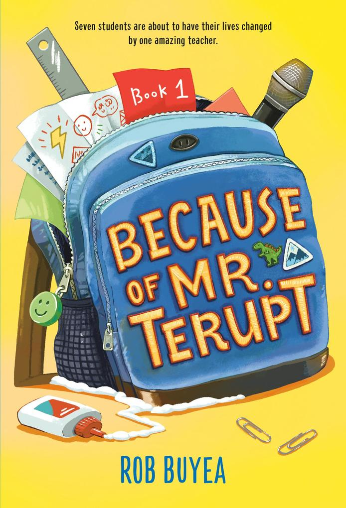 Because of Mr. Terupt als eBook Download von Ro...