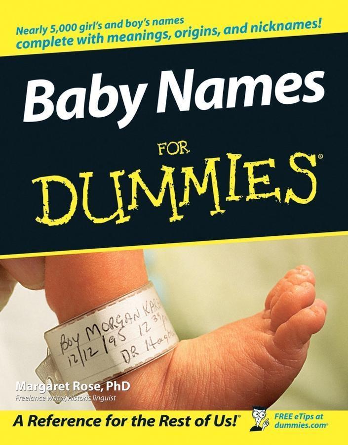 Baby Names For Dummies als eBook Download von M...