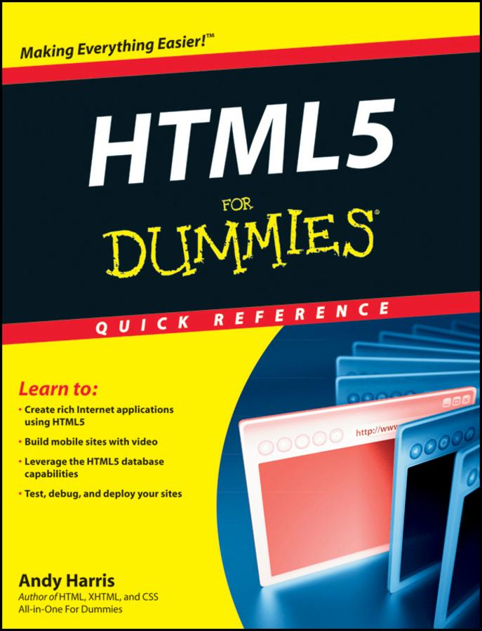 HTML5 For Dummies Quick Reference als eBook Dow...