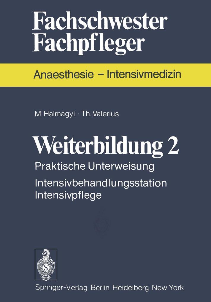 Weiterbildung 2 als Buch von M. Halmagyi, T. Va...