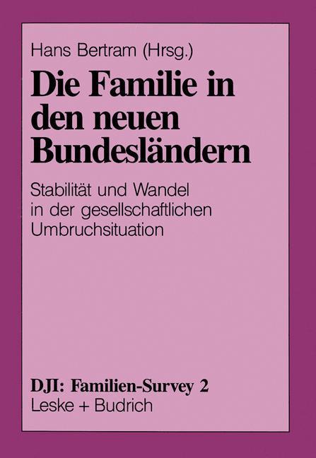 Die Familie in den neuen Bundesländern als Buch...