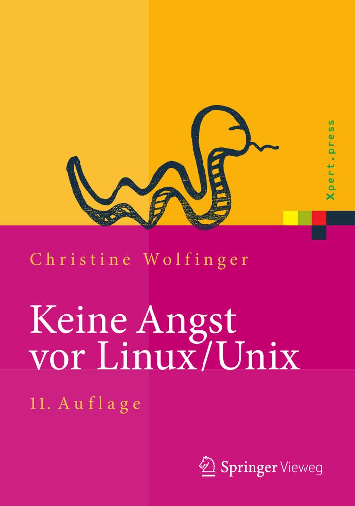 Keine Angst vor Linux/Unix als eBook Download v...