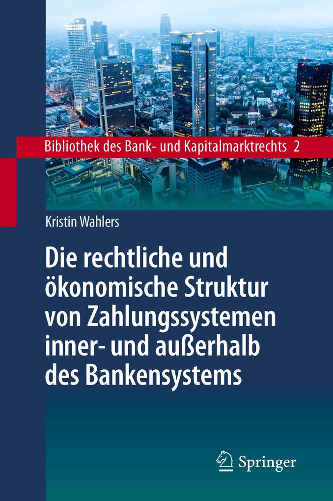 Die rechtliche und ökonomische Struktur von Zah...
