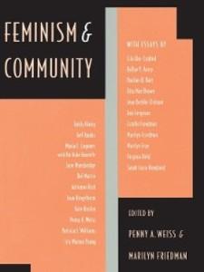 Feminism and Community als eBook Download von