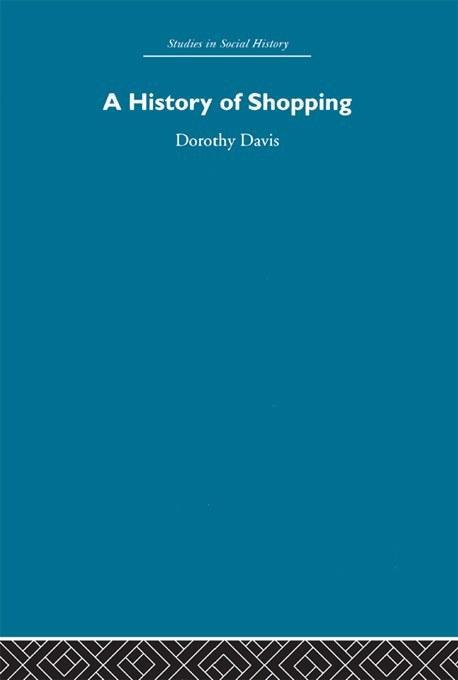 History of Shopping als eBook Download von Doro...
