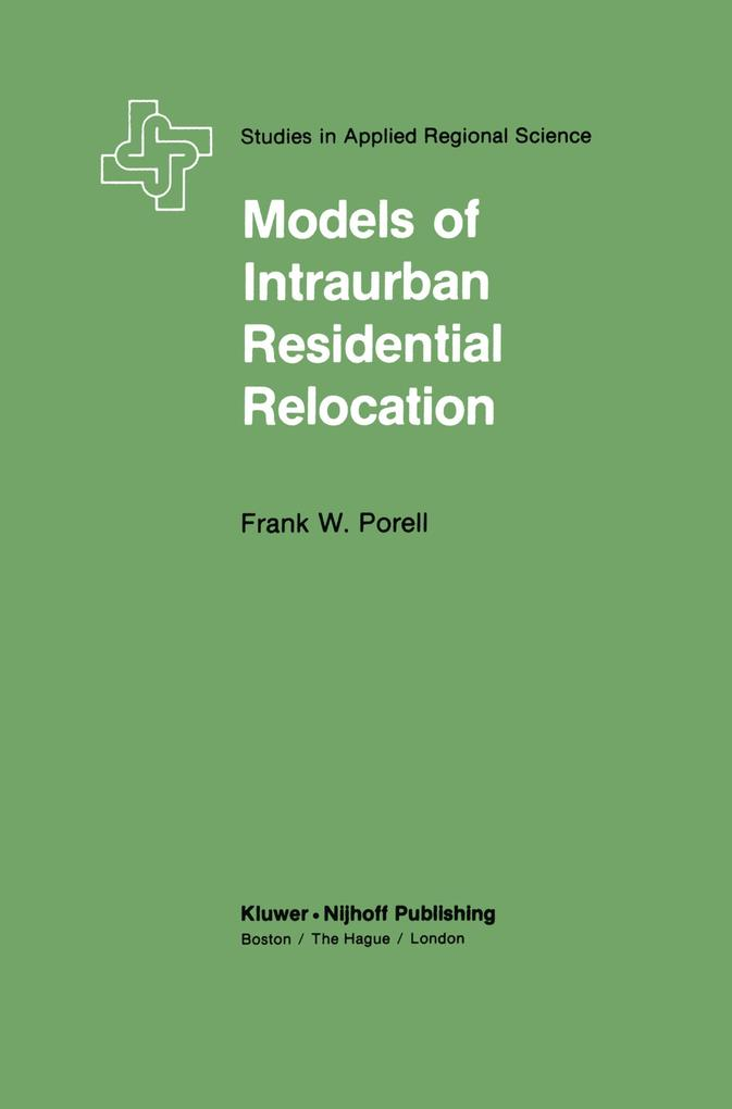 Models of Intraurban Residential Relocation als...