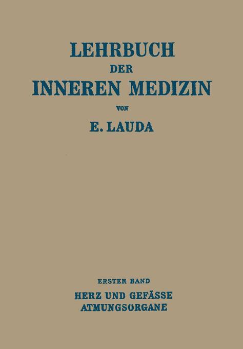 Lehrbuch der Inneren Medizin als Buch von Ernst...