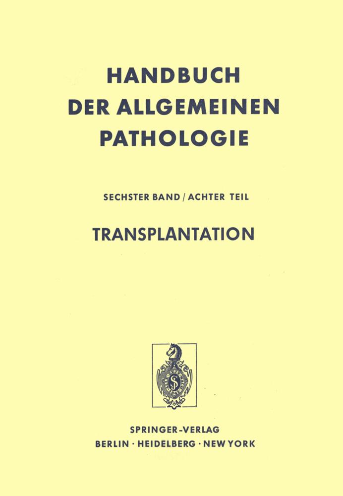 Transplantation als Buch von