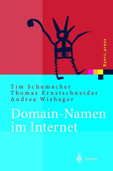 Domain-Namen im Internet als Buch von Thomas Er...