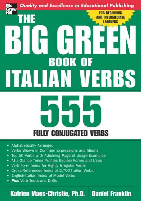Big Green Book of Italian Verbs als eBook Downl...