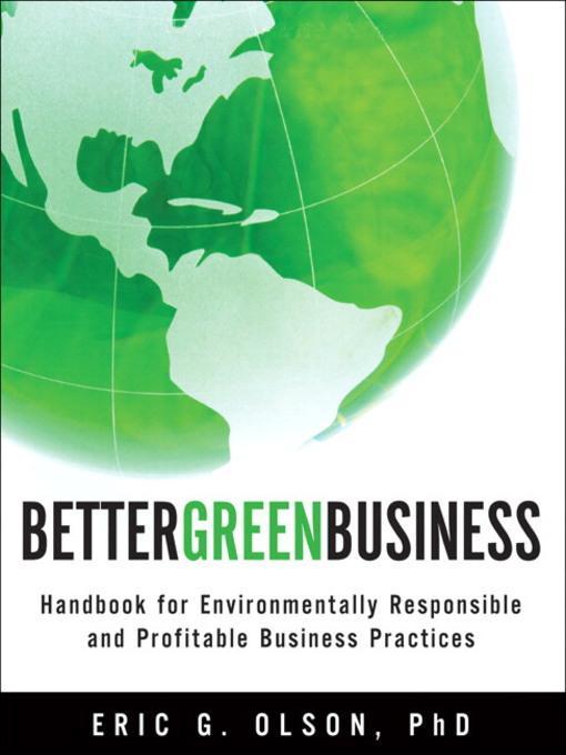 Better Green Business als eBook Download von Er...