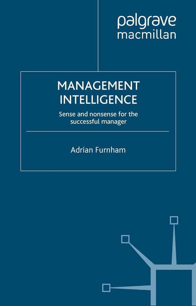 Management Intelligence als eBook Download von ...