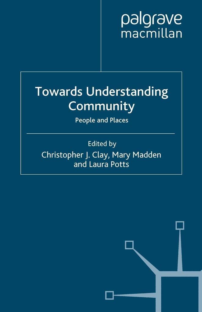 Towards Understanding Community als eBook Downl...