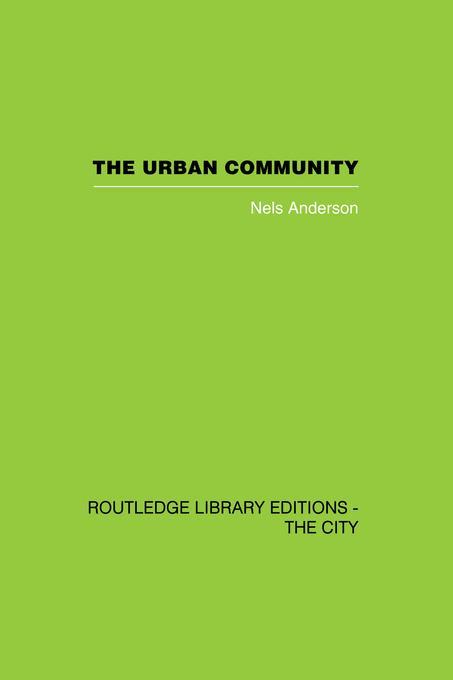 Urban Community als eBook Download von Nels And...