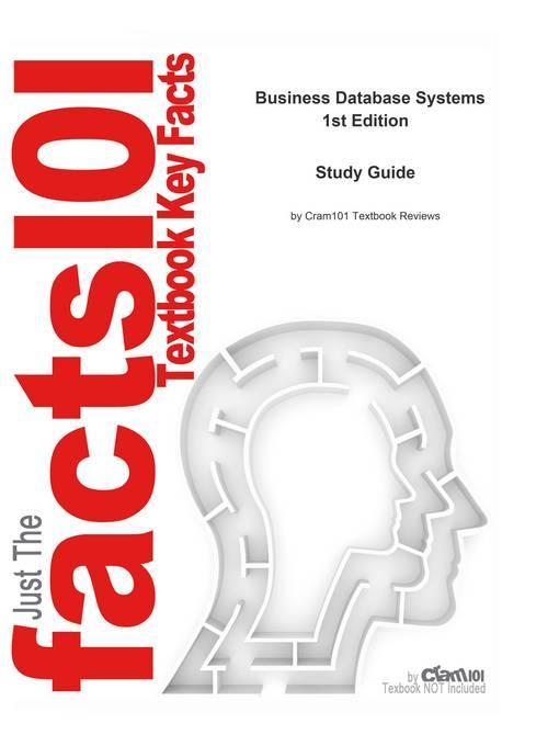 9781467215909 - CTI Reviews: Business Database Systems als eBook Download von CTI Reviews - كتاب