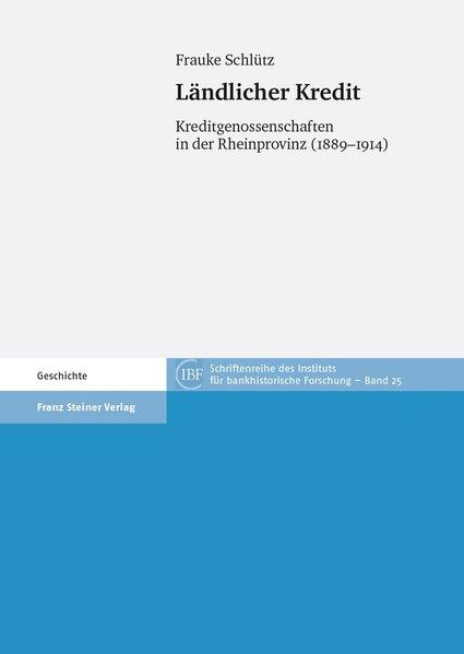Ländlicher Kredit als Buch von Frauke Schlütz