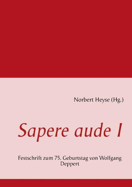 Sapere aude I als Buch von