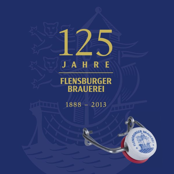 125 Jahre Flensburger Brauerei als Buch von Kar...
