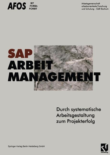 SAP, Arbeit, Management als Buch von AFOS