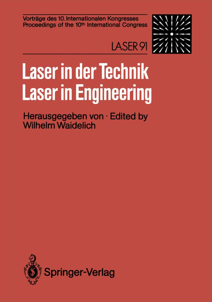 Laser in der Technik / Laser in Engineering als...