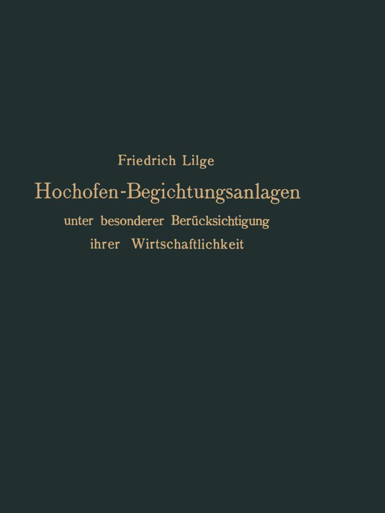 Hochofen-Begichtungsanlagen als Buch von Friedr...