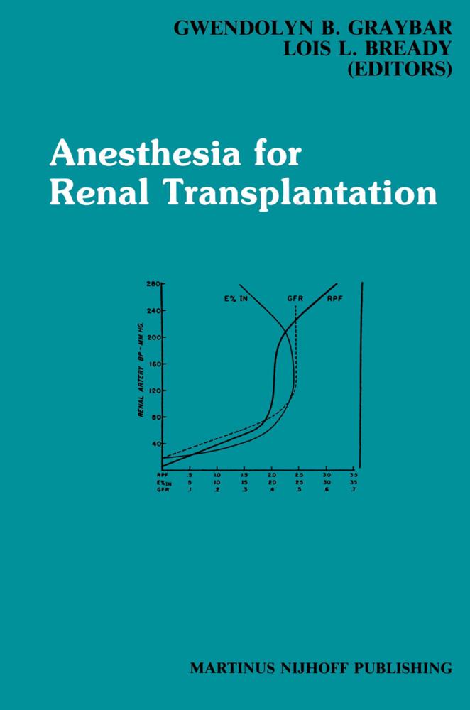 Anesthesia for Renal Transplantation als Buch von
