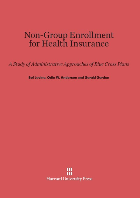 Non-Group Enrollment for Health Insurance als B...