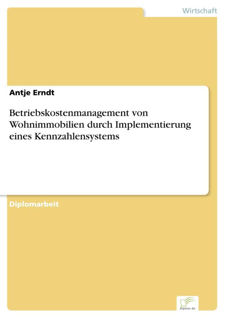 Betriebskostenmanagement von Wohnimmobilien dur...