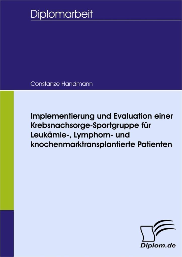 Implementierung und Evaluation einer Krebsnachs...
