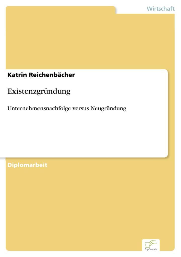 Existenzgründung als eBook Download von Katrin ...